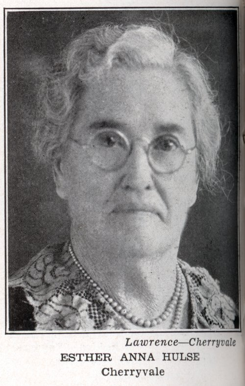 Esther Anna Brown Murtha Hulse - Page