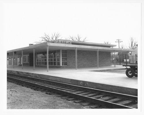 Atchison, Topeka and Santa Fe Railway Company depot, Lawrence, Kansas - Page
