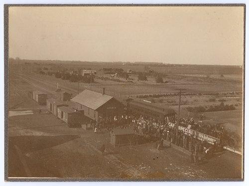 Atchison, Topeka and Santa Fe Railway Company's special train, Sedgwick, Kansas - Page