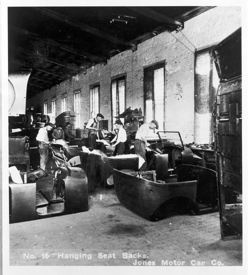 Jones Motor Car Company, Wichita, Kansas - Page