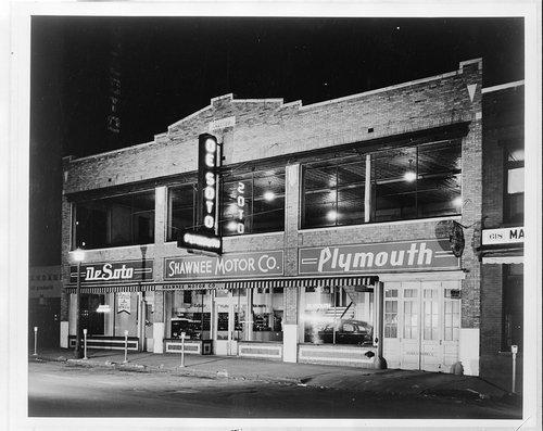 Shawnee Motors, Topeka, Kansas - Page