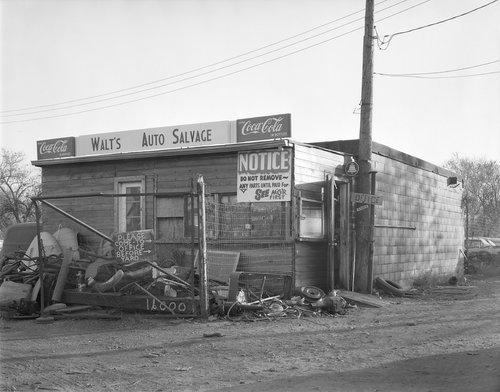 Walt's Auto Salvage, Topeka, Kansas - Page