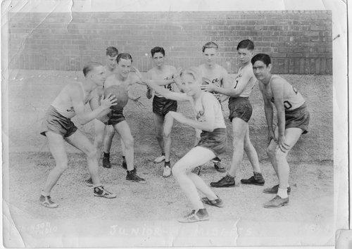 Basketball game, Treece, Kansas - Page