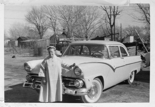 Woman with an automobile, Treece, Kansas - Page