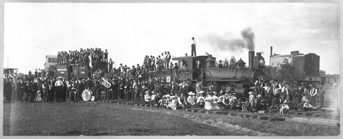First Kansas City, Mexico & Orient Railway train, Anthony, Kansas - Page