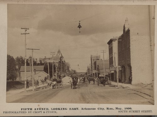 Fifth Avenue, Arkansas City, Kansas - Page