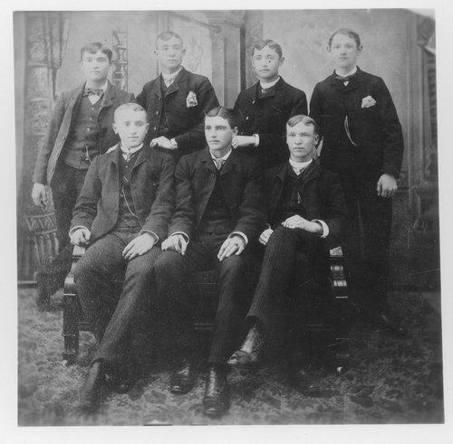 Group of young men, Arkansas City, Kansas - Page