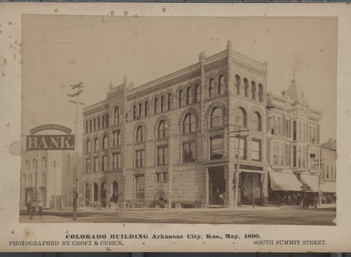 Colorado Building, Arkansas City, Kansas - Page
