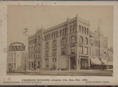Colorado Building, Arkansas City, Kansas - Page