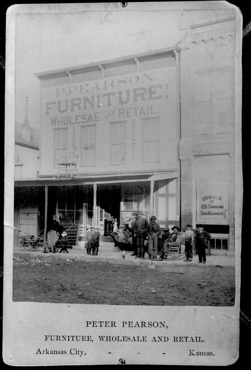 Peter Pearson's Furniture Store, Arkansas City, Kansas - Page