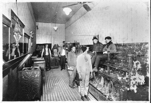 Shoe shine parlor, Arkansas City, Kansas - Page