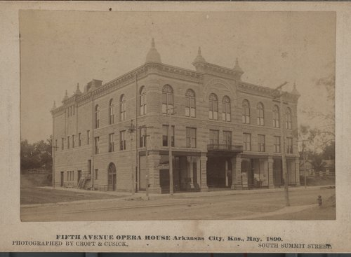Fifth Avenue Opera House, Arkansas City, Kansas - Page