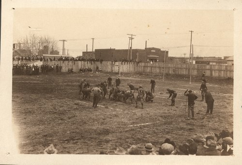 Football game, Arkansas City, Kansas - Page