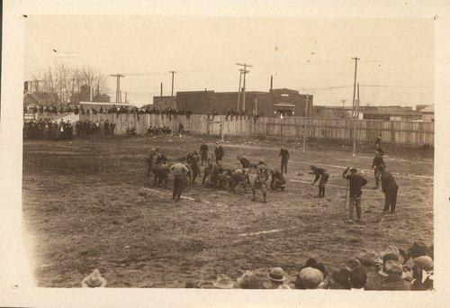 Football game, Arkansas City, Kansas - Page