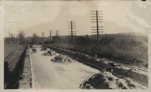 Laying a brick road near Kansas City, Kansas - Page