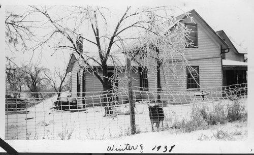 Rachel Strange Walls Marshall's home, Marshall County, Kansas - Page