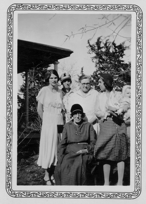 Rachel Strange Walls Marshall with family members, Marshall County, Kansas - Page