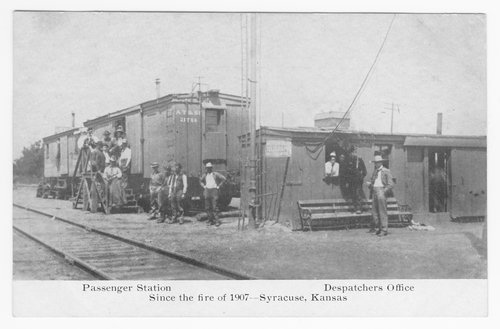 Passenger station, dispatchers office, Syracuse, Hamilton County, Kansas - Page