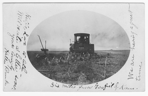 Plowing, Pawnee County - Page
