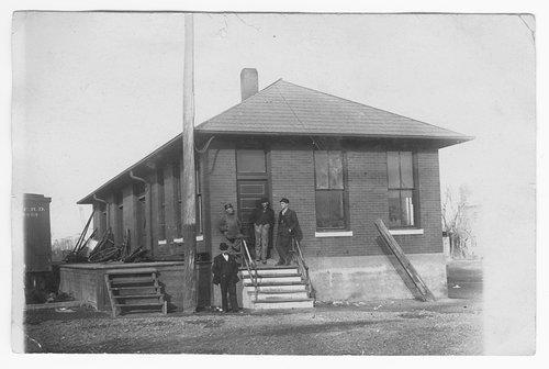 Atchison, Topeka & Santa Fe Railway Company's freight depot, Syracuse, Kansas - Page