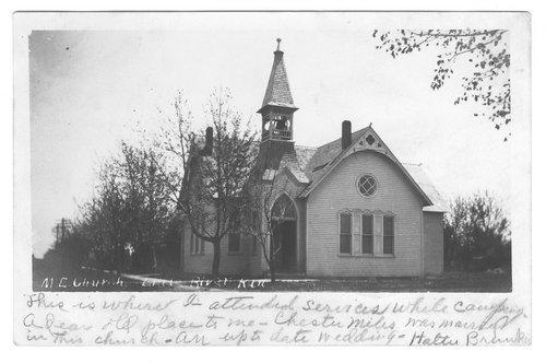 Methodist Episcopal Church, Little River, Rice County, Kansas - Page