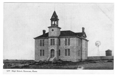 High School, Syracuse, Hamilton County, Kansas - Page
