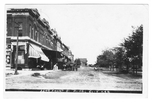 Front Street, Dodge City, Ford County, Kansas - Page