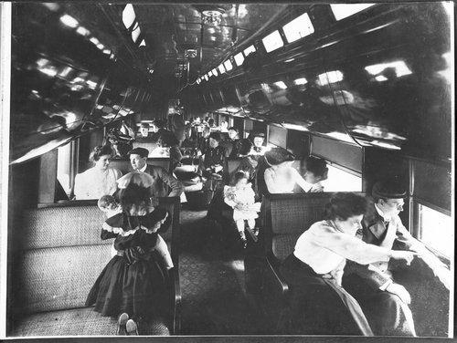 Atchison, Topeka & Santa Fe California Tourist Sleeper Service - Page