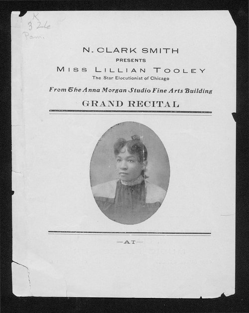 N. Clark Smith presents Miss Lillian Tooley - Page