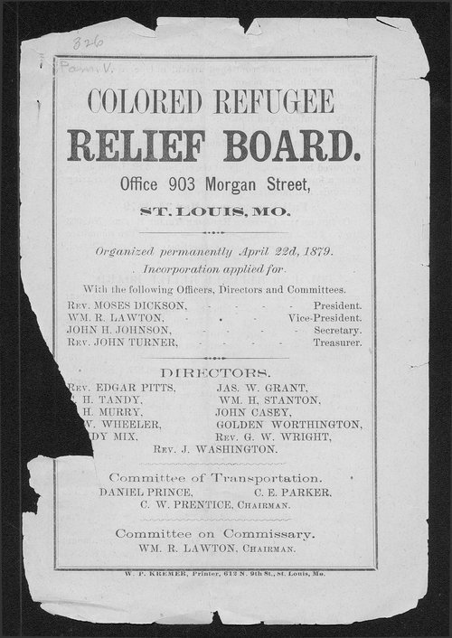 Colored Refugee Relief Board - Page