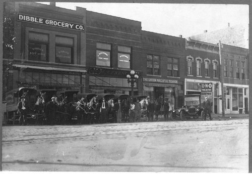 Businesses on Sixth Street, Topeka, Kansas - Page