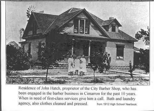 John Hatch's residence, Cimarron, Kansas - Page