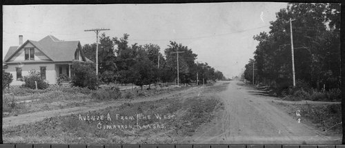 Avenue A in Cimarron, Kansas - Page