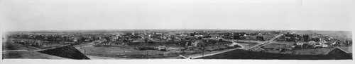Panoramic view of Cimarron, Kansas - Page