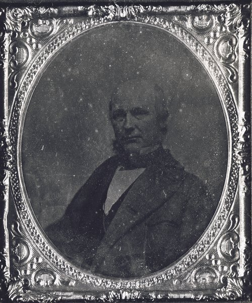 Photograph of Horace Greeley, 1850s
