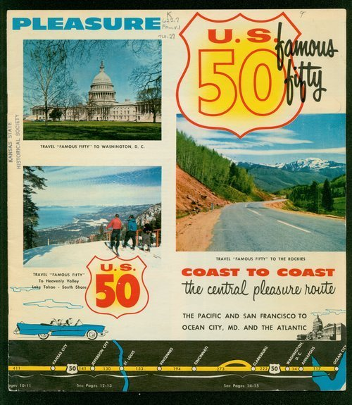 U.S. 50 coast to coast. The central pleasure route - Page