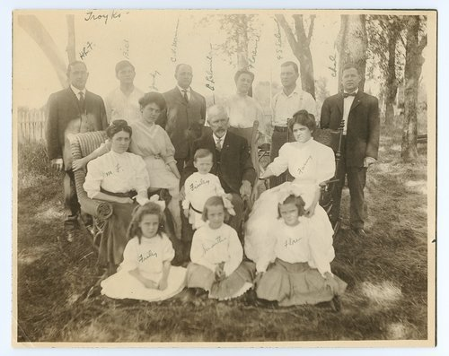 Cyrus Leland, Jr., and family - Page