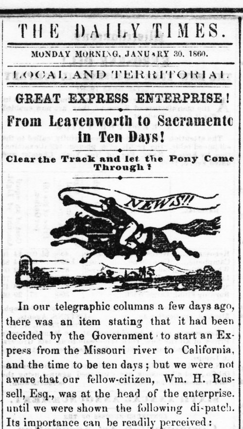 Leavenworth Daily Times, January 30, 1860