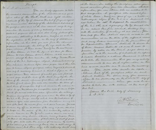Territorial census, 1855. District 7 - Page