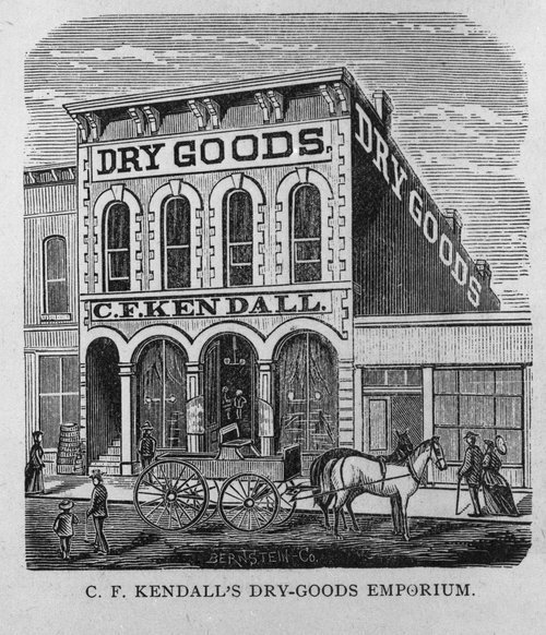C. F. Kendall Dry Goods, Topeka, Kansas - Page