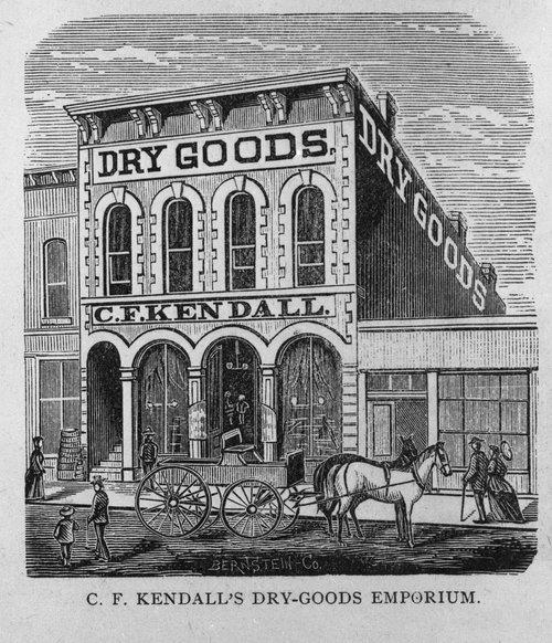 C. F. Kendall Dry Goods, Topeka, Kansas - Page
