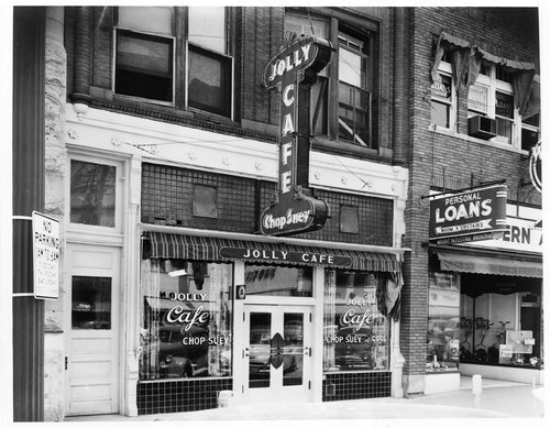 Jolly Cafe, Topeka, Kansas - Page