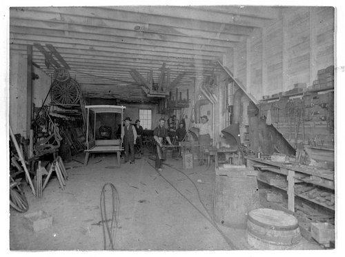 Bidwell Wagon Shop, Topeka, Kansas - Page