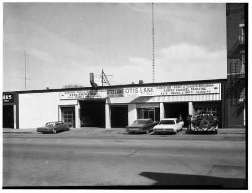 Otis Lane repair shop, Topeka, Kansas - Page