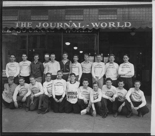 Lawrence Journal- World delivery boys, Lawrence, Kansas - Page