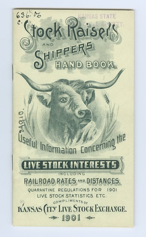 Stock raisers and shippers hand book - Page