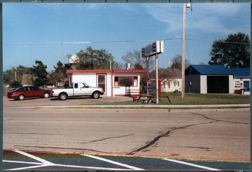 Valentine diner building, Cheney, Kansas - Page