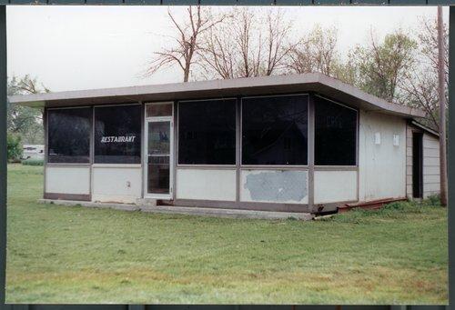 Valentine diner building, Coyville, Kansas - Page