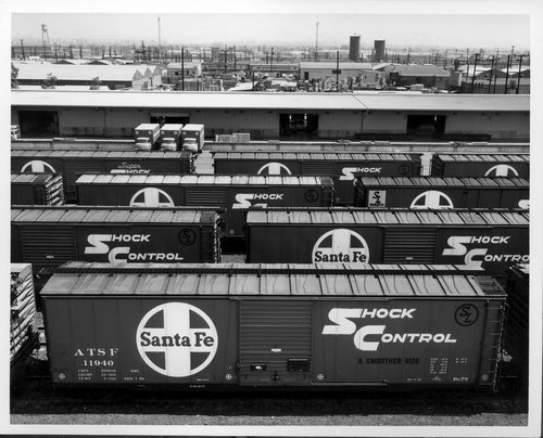Atchison, Topeka & Santa Fe Railway freight house, Los Angeles, California - Page