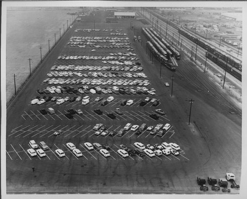 Atchison, Topeka & Santa Fe Railway autoveyor facility, Los Angeles, California - Page
